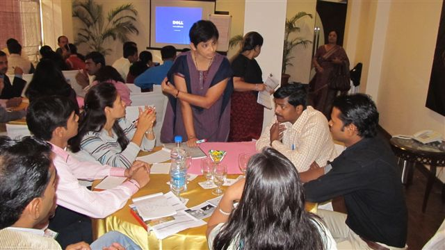 EnAble India conducting a program for trainers